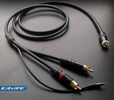 Canare starquad tonearm cable for Grace tonearms (male tonearm connector)