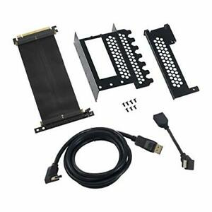CableMod CM-VPB-HDK-R Vertical Graphics Card Holder with PCIe x16 Riser Cable