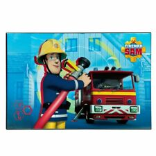 Kinder Schreibtisch-Unterlage | Feuerwehrmann Sam | Schreibunterlage 38 x 58 cm