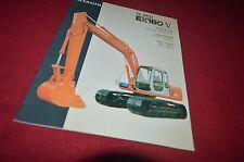 Hitachi Super EX160-V Excavator Dealer's Brochure DCPA6
