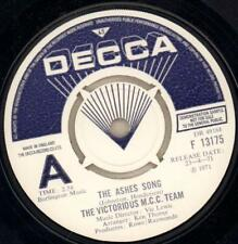 """The Victorious M.C.C Team(1st Issue Demo 7"""" Vinyl)The Ashes Song / Hell-Ex/Ex+"""