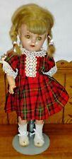 "Vintage Alexander Composition Princess Elizabeth Doll McGuffey Ana - 15 1/2"""
