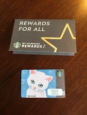 Starbucks Card  Thailand 2018  Paul & Joe W/ Sleeve