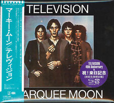Television - Marquee Moon WPCR-14971 Japan Mini-LP SHM-CD OOP NEW