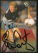 1995 NRL WINFIELD CUP TRIBUTE SIGNED TRADING CARD - #35 STEVE CARTER PANTHERS