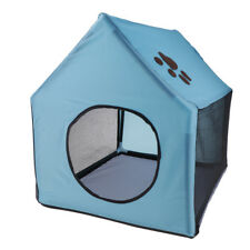 New Pet House Dog Cat Portable Indoor Warm Bed Dog Supplies Dog Houses Blue