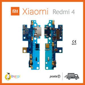 CONNETTORE RICARICA USB MICROFONO DOCK XIAOMI REDMI 4 (GLOBAL VERSION) FLAT FLEX