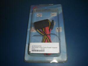 40cm SATA 7+15 Pin Splitter Cable Hard Drive Data 4 Pin Power Supply Adapter