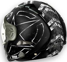 Casco helmet CROSSOVER OMOLOGAZIONE P/J airoh j106 command nero opaco taglia m
