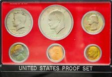 1976-S USA PROOF SET 6 COINS COLOR GEM CHOICE UNC BU TONED WONDERFUL (DR)
