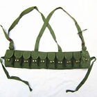 Original Chinese Military Surplus Sks 56 Semi Ammo Chest-Rig Bandolier Pouch