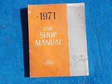1971 Ford Pinto Repair Shop Manual Nice Used Original FOMOCO