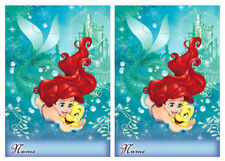 Ariel Little Mermaid Loot Treat Bags ~ (16) Girls Birthday Party Favor Supplies