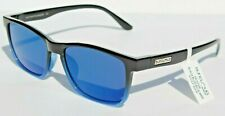 SUNCLOUD Dexter POLARIZED Sunglasses Black/Blue Mirror NEW Smith