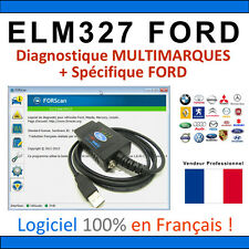 Interface ELM327 MODIFIÉ - Valise Diagnostique MULTIMARQUES & FORD ELM 327