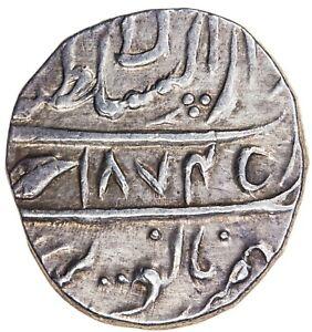 India Sikh Empire Ranjit Singh AR Rupee VS1874(1817) Lahore Herrli 08.06.04 AU
