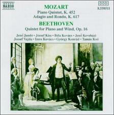 Mozart: Piano Quintet, K452; Adagio and Rondo, K617; Beethoven: Quintet for Pian