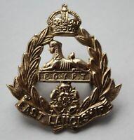 British Army, East Lancashire Regiment Cap Badge. Brass.