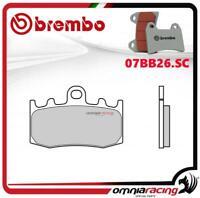 Brembo SC - Pastiglie freno sinterizzate anteriori per BMW K1200GT abs 2002>