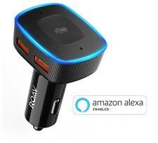 Roav VIVA, by Anker, Alexa-Enabled 2-Port USB Car Charger for In-Car Navigation,