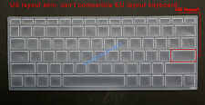 US Keyboard Silicone Skin Cover Protector for HP zhan66 Pro 13 G2 13inch laptop