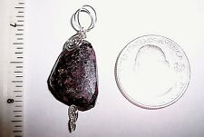 A Eudialyte Freeform Faceted pendant Reiki Lightworker SS