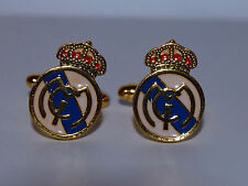 Gemelos del Real Madrid Fútbol - REAL MADRID CUFFLINKS  - C29