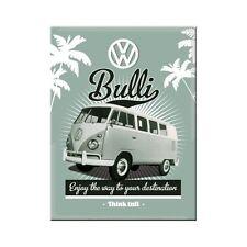 VW rétro Bulli ANCIENNE camping-car Volkswagen Van garage Nouveauté