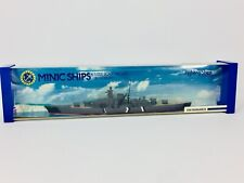 Km Bismarck Ship Model Minic Ships By Hornby 1/12000 Scale Diecast
