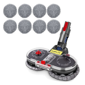 Electric Clean Head Mop Floor Head Brush For Dyson V7 V8 V10 V11 Vacuum Cleaner
