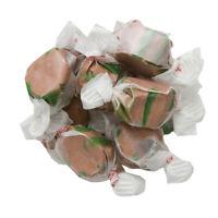 GOURMET CHOCOLATE MINT Salt Water Taffy Candy TAFFY TOWN 1/4 LB  to 10 LB BAG