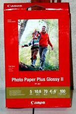 Canon Photo Paper Plus Glossy - 100 Sheets per Box. 4x6 inches Canon pp-301