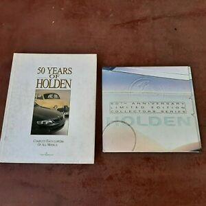 Holden memorabilia. 50 years of Holden book. Collector cards with folder.
