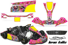AMR Racing Graphics Righetti Ridolfi XTR14 Kart Sticker Kits Decals ED HARDY