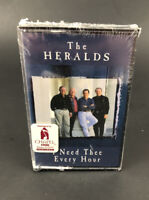 The Heralds Cassette Tape 'I Need Thee Every Hour' Music Tape New