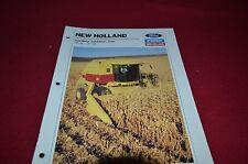 New Holland TR86 TR96 Twin Rotor Corn Combine Dealer's Brochure DCPA2