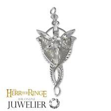 Herr der Ringe/Hobbit Anhänger Arwens Abendstern Replika/groß silber A10004026