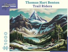 Pomegranate Jigsaw - Trail Riders by Thomas Hart Benton (1000 pieces)