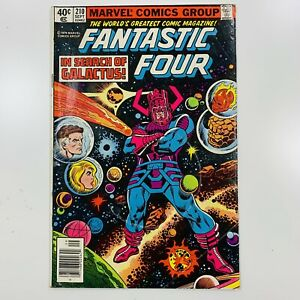 Fantastic Four (Vol. 1) Issue 210 (1961-1996) Marvel Comic Human Torch The Thing