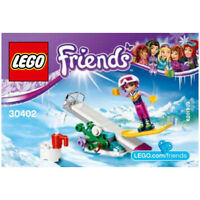 Lego Friends - 30402 - Snowboard + Personnage et rampe, Snowboard Tricks polybag