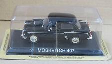 MOSKVITCH 407 COCHE MINIATURA COLECCIÓN 1/43 IXO -LEGENDARY COCHE AUTO-B12