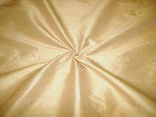 "Handloom 100 Silk Dupion 54"" Width Bamboo by Half MT"
