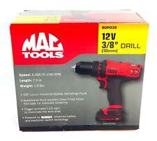 "Mac Tools BDP038 12V MAX 3/8"" Cordless Drill (TOOL ONLY) **NEW - FREE SHIPPING**"