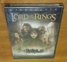 Lord Of The Rings: Fellowship (DVD, Widescreen Edition) 1 lotr movie film NEW