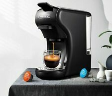 Expresso Coffee Machine Espresso Pod Coffee Ground Coffe Maker Multiple Capsule