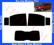 Passgenaue Tönungsfolie Fiat Panda 5T 2004-2007 Heck/Seitenscheiben 5%-50%