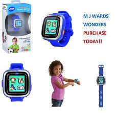 Vtech KidiZoom Smart Watch Plus Blue Kids Boys Electronic Toy Games Camera Video