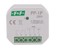 F&F PP-1P Elektromagnetisches Relais 230V AC 16A Beleuchtung LED Leuchtmittel