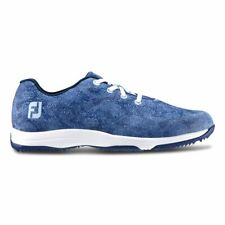 Ladies FootJoy Leisure Golf Shoes Blue Size Uk7 Wide Style 92905k