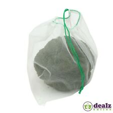 5x Dexam Reusable Washable Drawstring Mesh Fruit and Vegetable Supermarket Bags